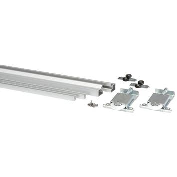Storemax schuifdeurkit R60 in aluminium