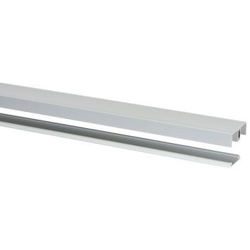 Rail pour portes coulissantes Storemax R20 240 cm aluminium