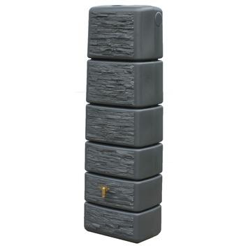 Muurregenton Slim granietkleur 300 liter