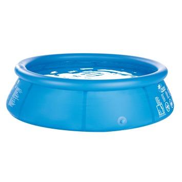 Zwembad rond 360x76 cm met hoes en pomp