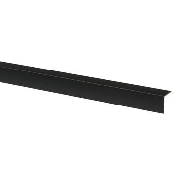 Profilé d'angle synthétique 30x30 mm 260 cm noir