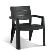 Allibert chaise Ibiza graphite