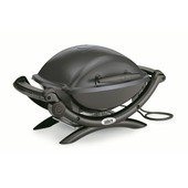 Weber elektrische barbecue Q1400 dark grey