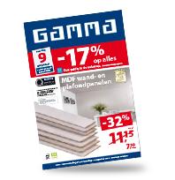 Bekijk hier de GAMMA folder