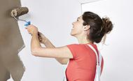 Binnenmuur en plafond schilderen