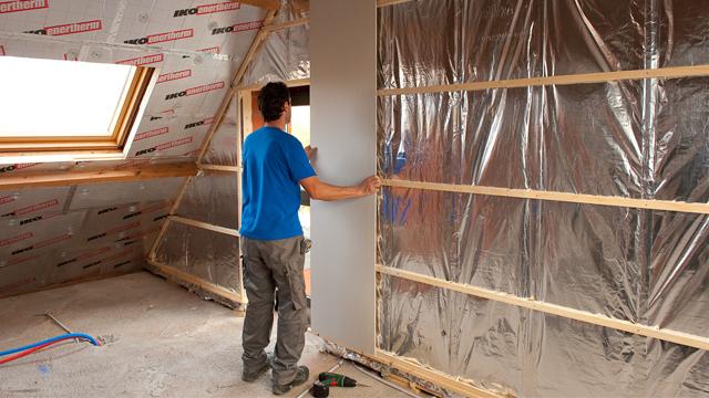 akoestisch isoleren met gipskartonplaten. Black Bedroom Furniture Sets. Home Design Ideas