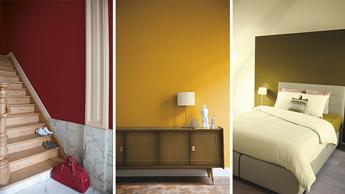 Kleur inspiratie voor slaapkamer, woonkamer, kinderkamer …