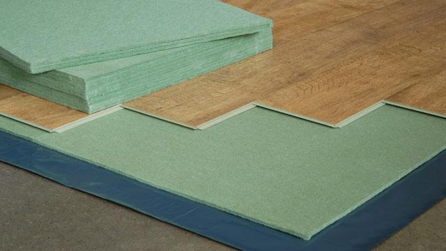 Isolerende ondervloer voor laminaat