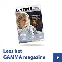 Lees het GAMMA magazine