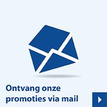 Ontvang onze promoties via mail