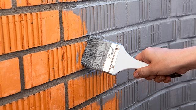 Comment peindre un mur ext rieur ou une fa ade - Comment peindre une facade crepi ...