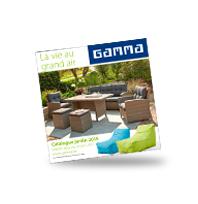 Découvrez le catalogue jardin GAMMA