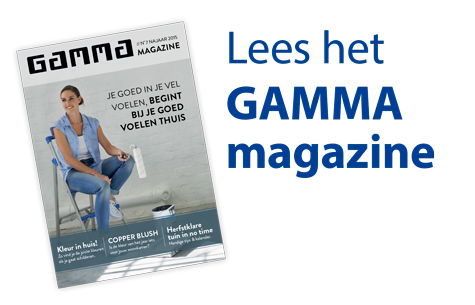 Lees het nieuwe GAMMA magazine
