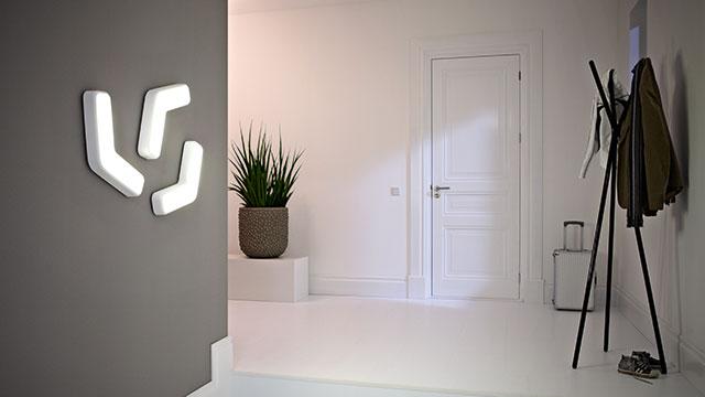 halverlichting en trapverlichting. Black Bedroom Furniture Sets. Home Design Ideas