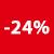 24% korting