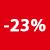 23% KORTING