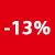 13% korting