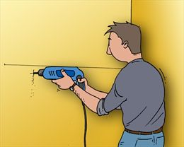 Plank Bevestigen Muur.Plank Ophangen Met Plankdragers Gamma Be