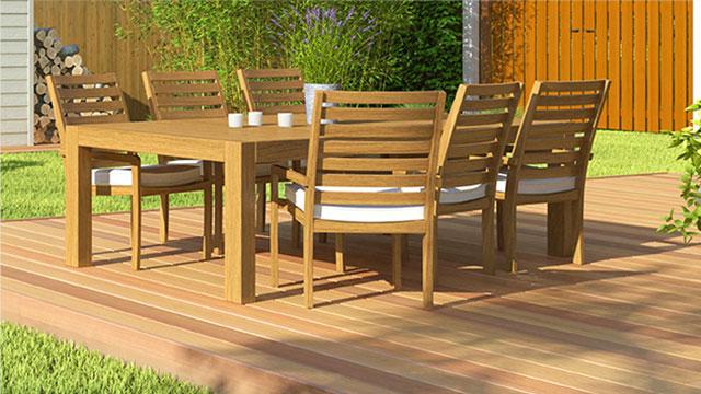 Lasurer une terrasse et du mobilier de jardin   GAMMA.be