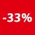 33% DE RÉDUCTION