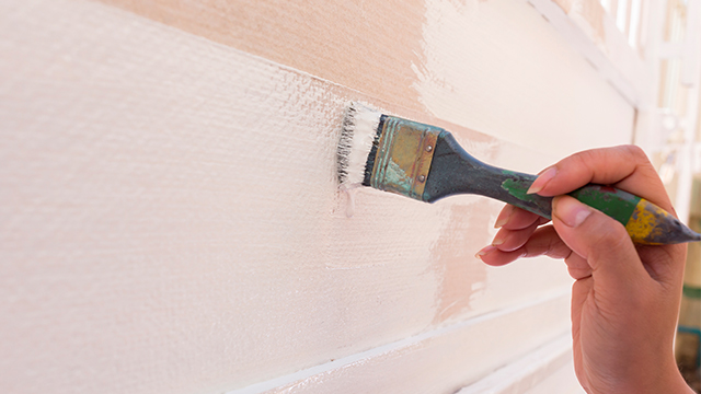 comment peindre un mur humide top peindre un mur with comment peindre un mur humide great deux. Black Bedroom Furniture Sets. Home Design Ideas