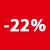 22% KORTING