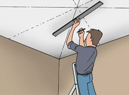 Plafondtegels plaatsen - Dalle polystyrene plafond interdit ...
