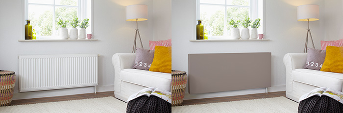 cache radiateur sentimo. Black Bedroom Furniture Sets. Home Design Ideas