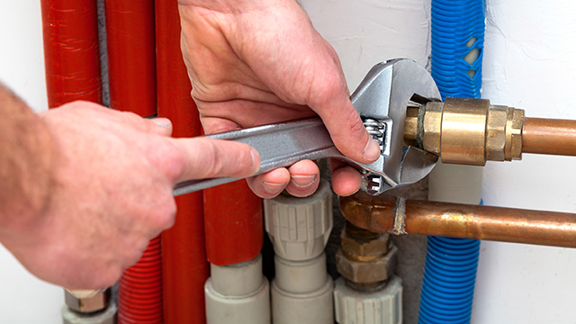 Nieuwe Waterleiding Plaatsen Gamma Be