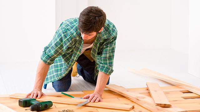 Massief houten vloer leggen gamma be