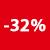 32% KORTING