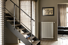 Bruine verf voor binnenmuren en plafonds