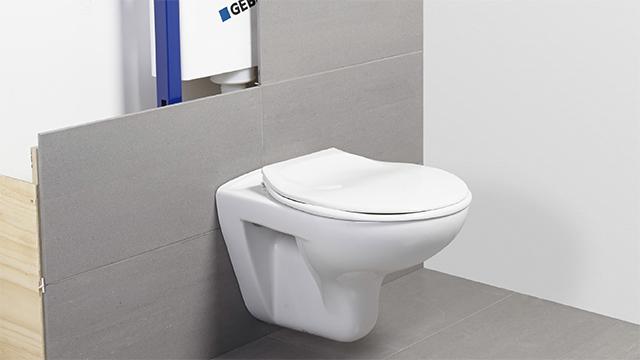 Zwevend Toilet Gamma : Staand toilet vervangen door hangtoilet gamma.be
