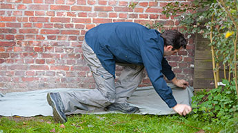Buitenmuur schilderen: voorbereiden en bescherming