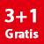 3+1 GRATIS