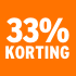 O_33% korting
