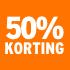O_50% korting