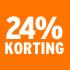 O_24% korting