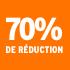O_70% de réduction