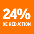 O_24% de réduction