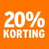 O_20% korting