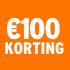 O_€100 korting