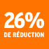 O_26% de réduction
