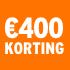 O_€400 korting