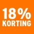 O_18% korting