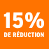 O_15% de réduction