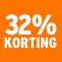 O_32% korting