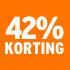 O_42% korting