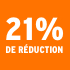 O_21% de réduction