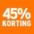 O_45% korting